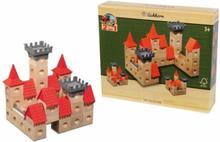 Houten Knikker blokkenset kasteel Eichhorn