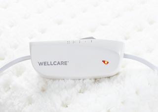 Wellcare WE-167UBAHD Babysoft enkelt elektrisk tæppe