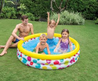 Intex Cool Dots oppustelig pool
