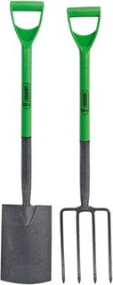 Draper Tools gravegreb og spadesæt karbonstål 28x18 cm 16566