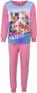 Rosa Paw Patrol Pyjamas / Kosedress i Fleece til Barn