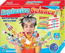 Explosive Science - Indeholder 25 seje forsøg