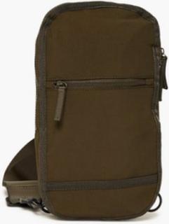 Topman Sling Cross Body Bag Väskor Khaki