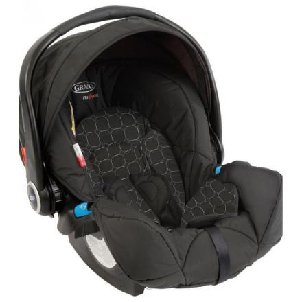 Graco Logico S HP Babyskydd med Bas (Svart Mode Noir)
