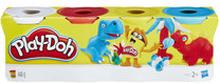 Leklera 4-pack, olika färger