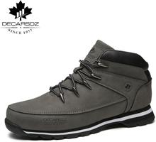 Men Basic Boots Shoes Men 2020 Autumn Winter Fashion Casual Boots Men Brand Ankle Botas New leather Classic Lace-up Men Boots