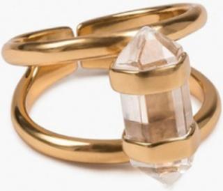 Cornelia Webb Crystalised Double Ring Ringe