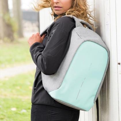 Stöldskyddad ryggsäck, kompakt