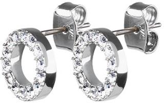 Dyrberg/Kern Koro Crystal Earrings Silver One size