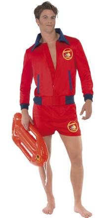 Kostume livredder Baywatch i Malibu voksen - Vegaoo.dk