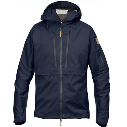 Fjällräven Keb Eco-Shell Jacket Mens, Dark Navy