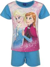 Ljus Blå Anna och Elsa Pyjamas till Flicka a8276a2ed595b