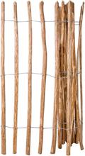 vidaXL Staket hasselträ 150x250 cm