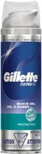 Gillette Series Shave Gel Protection 200 ml