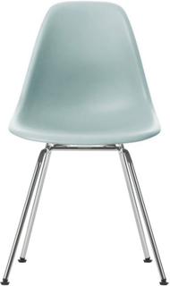 Eames Plastic Chair - DSX Ej klädd, Sits - Ice Grey, Ben - Krom