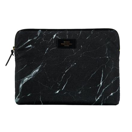 "Laptopfodral"" - Black Marble"