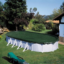 Summer Fun Vintertrekk for basseng ovalt 800 cm PVC grønn