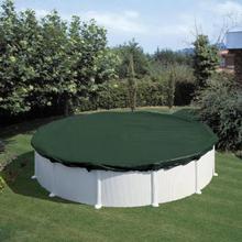 Summer Fun Vintertrekk for basseng rundt 360 cm PVC grønn