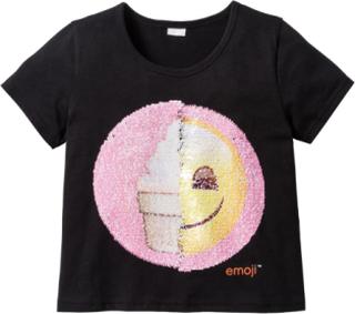 EMOJIS T-shirt med vändbara paljetter