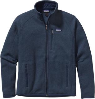Patagonia Men's Better Sweater Jacket Herre mellanlager tröjor Blå M