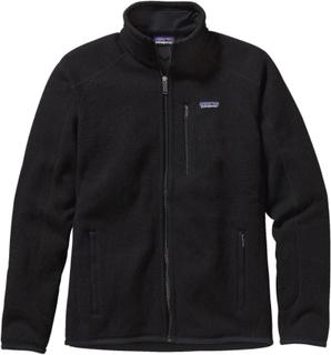 Patagonia Men's Better Sweater Jacket Herre mellanlager tröjor Sort L