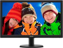 Philips V-line 243V5LHSB, 23,6 LED-monitor, FullHD, 5ms, HDMI, svart