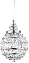 Oriva Fönsterlampa Kristall K9 Boll-Krom