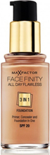 Max Factor All Day Flawless 3-in-1 Foundation Natural 50