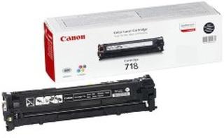 Canon Canon toner 718BK - Svart