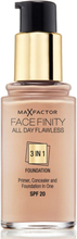 Max Factor All Day Flawless 3-in-1 Foundation Porcelain 30