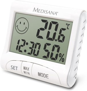 Medisana Digitalt Thermo-Fugtighedsmåler HG 100 60079
