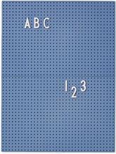 Design Letters - Design Letters Opslagstavle A4, Blå