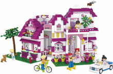 Sluban Byggblock Girls Dream-serien stor villa