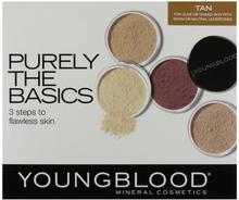 Youngblood Mineral Basic Kit Tan 4 x 2 g + 0,5 g + 1 kpl
