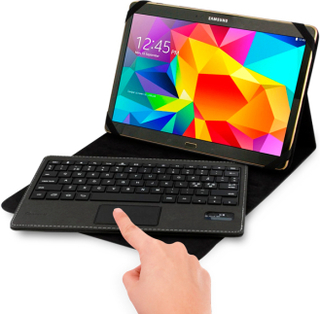ISOTECH Universal Keyboard with Touch pad for Samsung Galaxy Tab (Nordic KeyBoard)