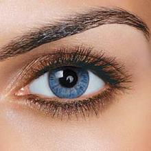 FreshTone Fargede kontaktlinser uten styrke - Carribean Blue
