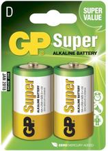 GP Batteries Batteri GP Super Alkaline Size D, LR20, 1.5V (2p)