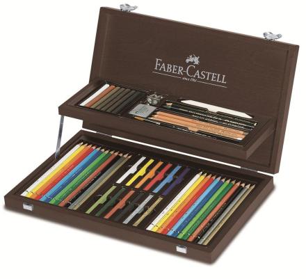 Faber-Castell - Art Graphic COMPENDIUM wood case (110088)