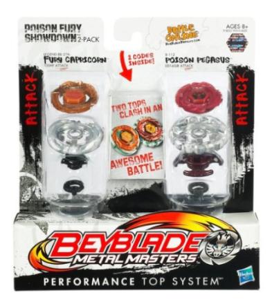 Beyblade Poison Fury Showdown - Hasbro