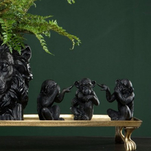 De tre aporna, inte se, inte höra inte tala