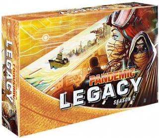 Pandemic Legacy: Season 2 Yellow Brädspel