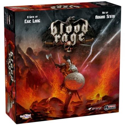 Blood Rage Boardgame