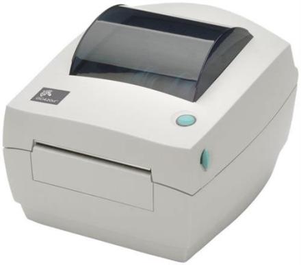 Zebra DT Printer GC420, 203DPI, EU power cords