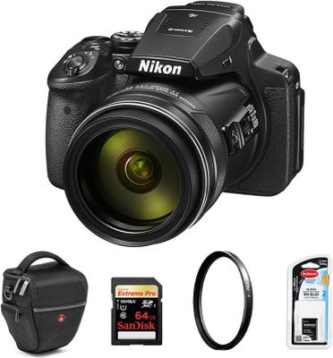 Nikon Coolpix P900 Svart Paket, Nikon