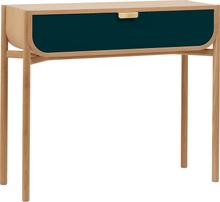 Harto Marius sivupöytä, tammi - petroolinsininen