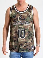 Basketball Jersey Camo