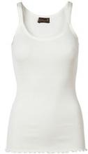 Basic soft Silk Top, Round elastic neck