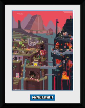 Collector print - Games - Minecraft World - Merchandise - CDON.COM