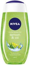Caring Shower Gel Lemon & Oil, 250 ml
