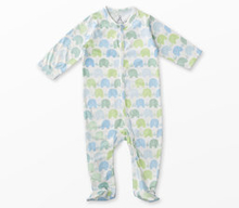 Pyjamas med elefantmotiv